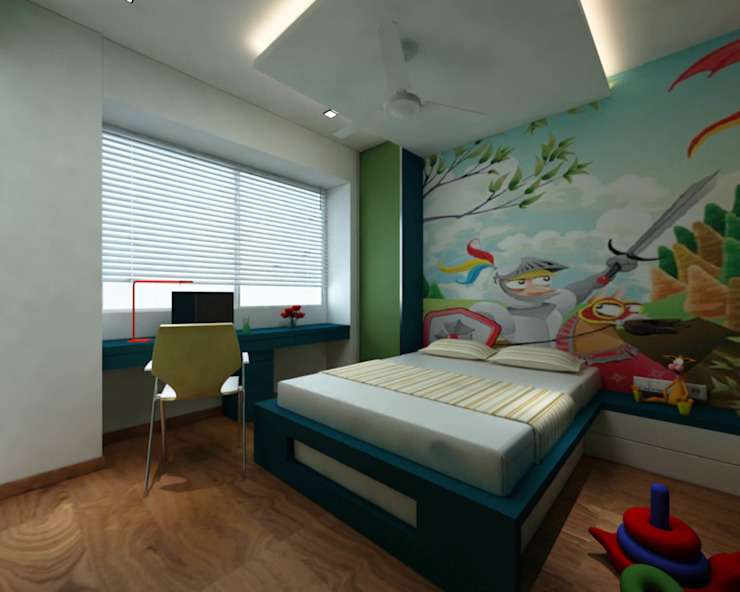 Nursery/kid's room by Midas Dezign, Asian