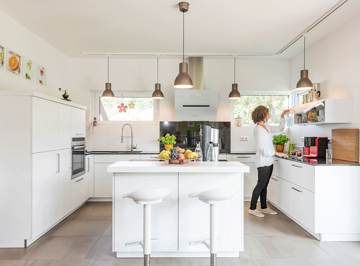 KitzlingerHaus GmbH & Co. KG 置入式廚房 White