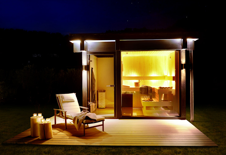 PLUS ENERGY HOUSE Westerwald DAVINCI HAUS GmbH & Co. KG Modern spa