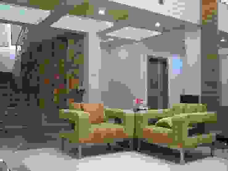 Interior designer project Modern living room by Sudhir Pawar &associate Modern
