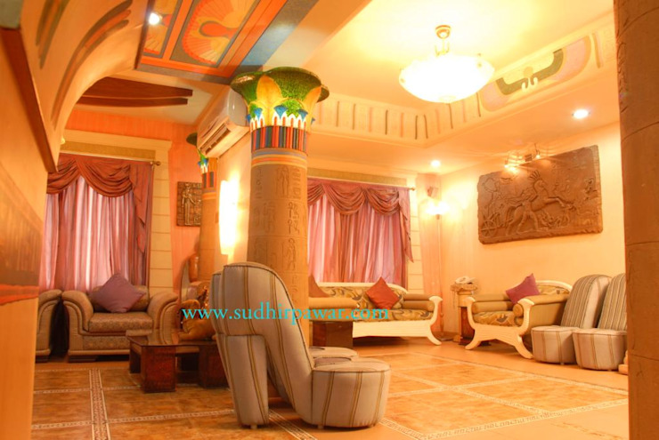 Interior designer project Classic style houses by Sudhir Pawar &associate Classic