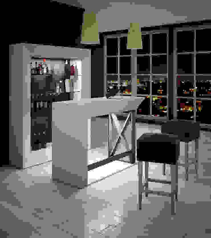 Barra de Bar para Casa Franco Furniture SalasMesas de centro y auxiliares