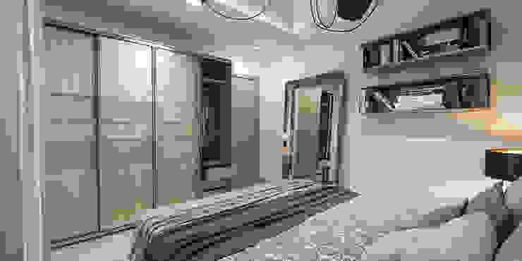 camera ospiti studiosagitair Camera da letto moderna