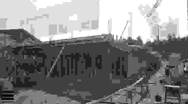 Habitação Unifamiliar RM Casas modernas por Em Paralelo Moderno