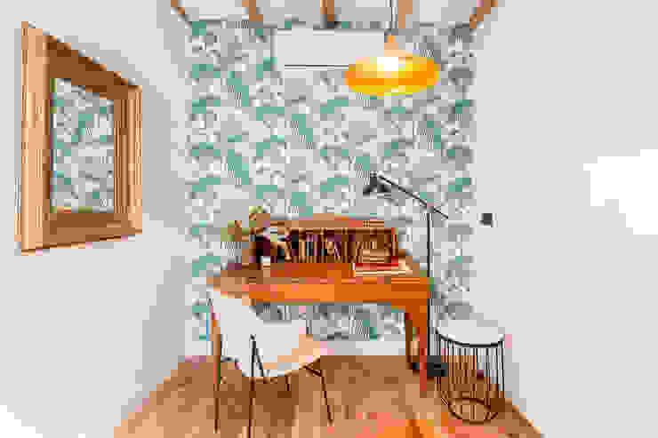 Modern style study/office by CABALLERO Fotografía de Arquitectura, Inmobiliaria e Interiorismo Modern