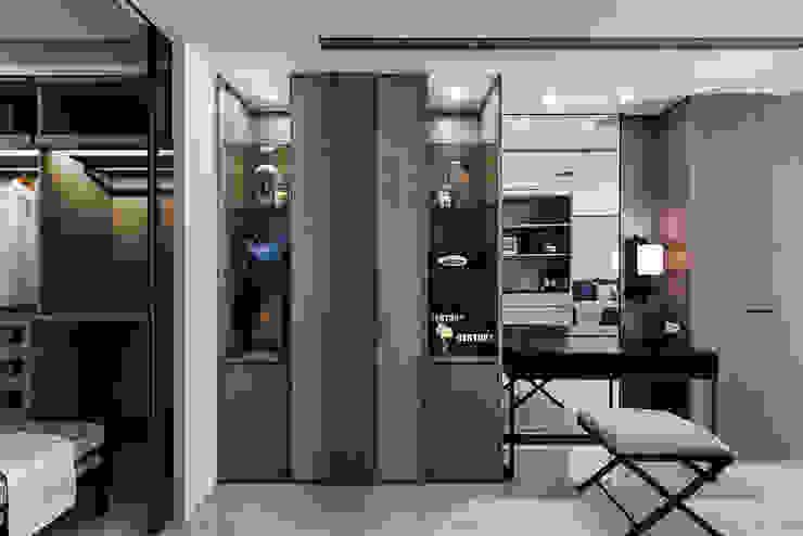 《暢意之居》 辰林設計 臥室 Brown