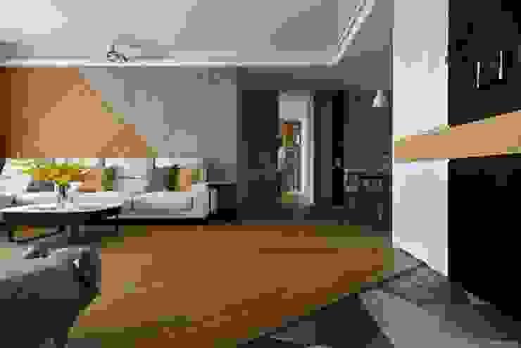 infinity 现代客厅設計點子、靈感 & 圖片 根據 辰林設計 現代風