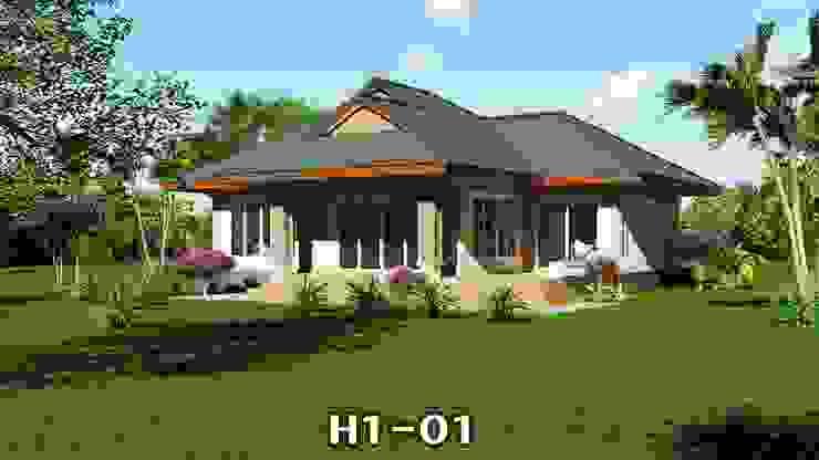 แบบบ้าน H1-01 โดย homeplan360d