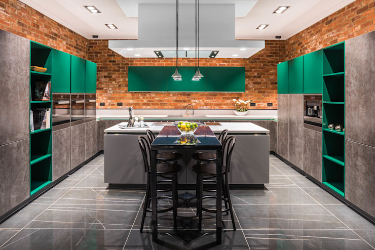 kitchen showroom space Modern event venues by James Rowland Photography Modern