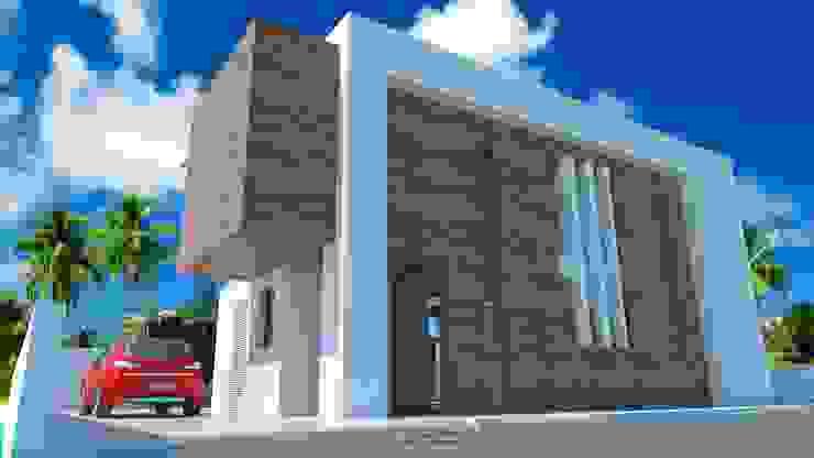 โดย DYOV STUDIO Arquitectura. Concepto Passivhaus Mediterráneo. 653773806 โมเดิร์น