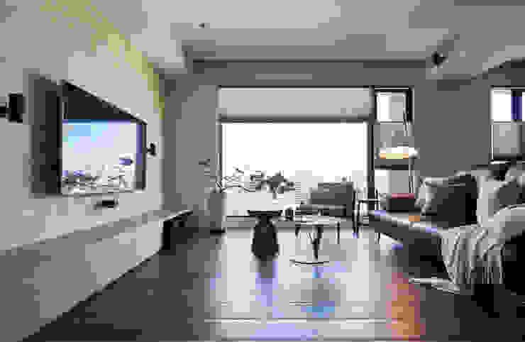樸十設計有限公司 SIMPURE Design Ruang Keluarga Modern