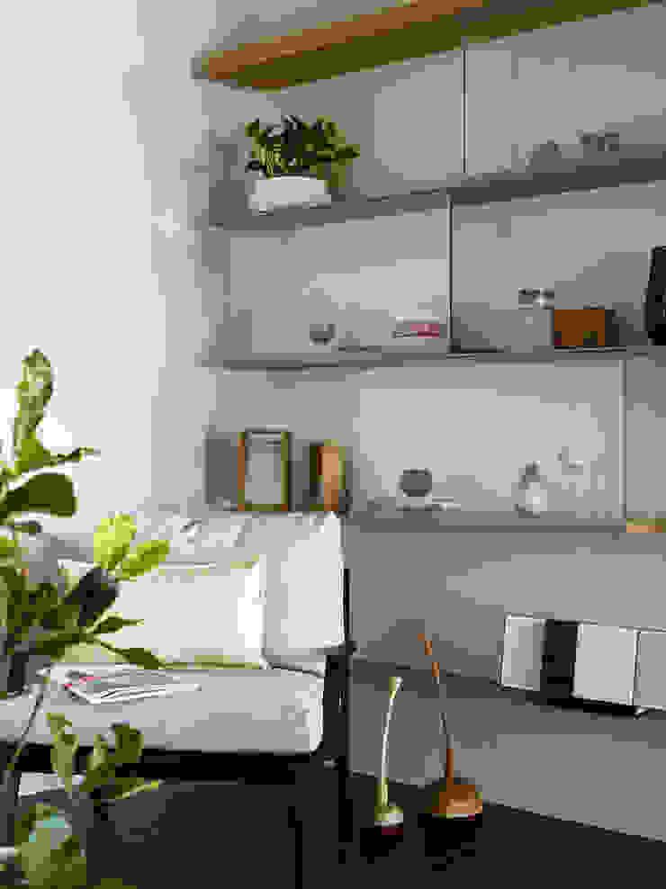樸十設計有限公司 SIMPURE Design Ruang Studi/Kantor Modern