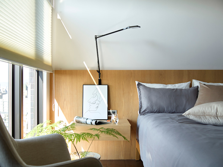 樸十設計有限公司 SIMPURE Design Kamar Tidur Modern