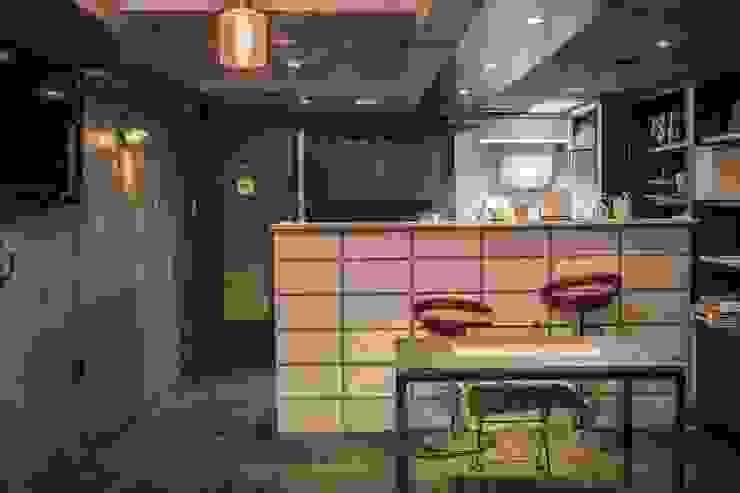 가가카페 – 빈티지 스타일 인테리어 모던 스타일 바 & 클럽 by gaga interior 모던
