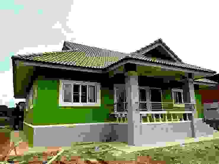 บ้านคุณดาว อ.ท่าวังผา จ.น่าน โดย บ้านช่างใหญ่ บริการรับสร้างบ้าน จ.น่าน (รัชนีก่อสร้าง)