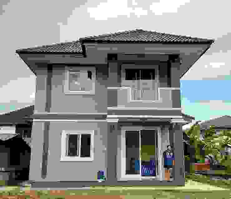 บ้านคุณเบียร์ อ.ท่าวังผา จ.น่าน โดย บ้านช่างใหญ่ บริการรับสร้างบ้าน จ.น่าน (รัชนีก่อสร้าง)