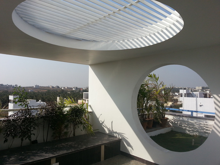 Mr. Mallesh Residence by Tangent Structures.