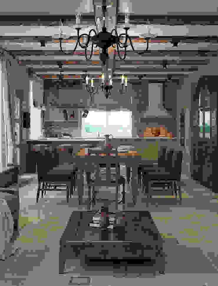 Mediterranean style kitchen by EJ Studio Mediterranean