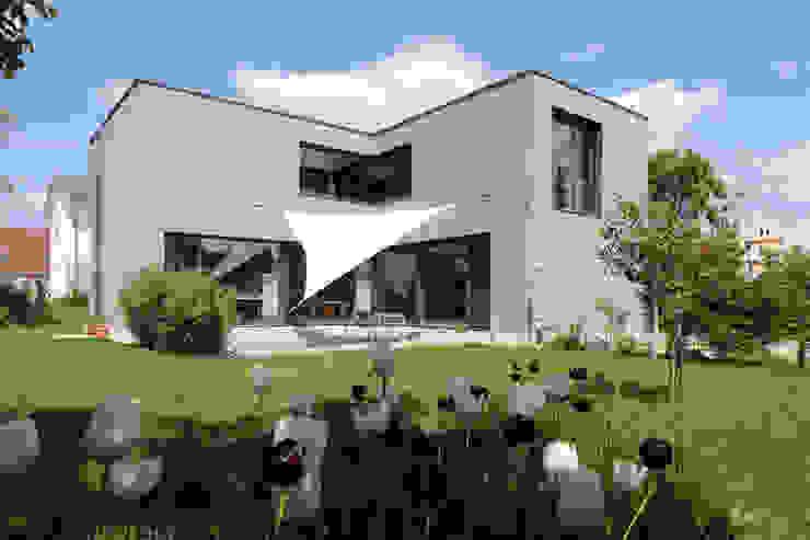Wohnhaus K von Architekturbüro zwo P Modern Holz Holznachbildung
