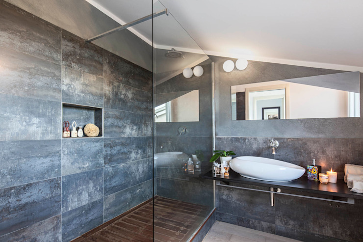 km 429 architettura Modern bathroom