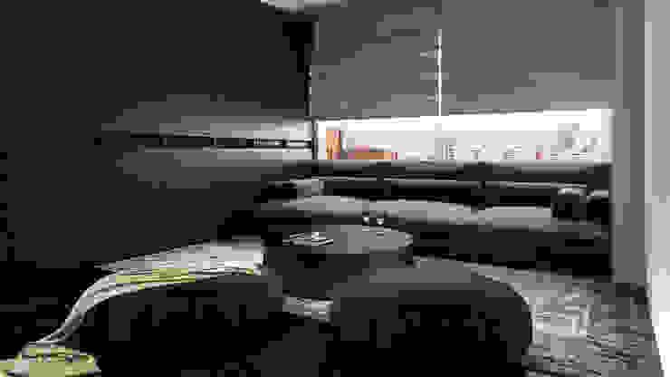 The lounge Minimalist bedroom by Ashleys Minimalist