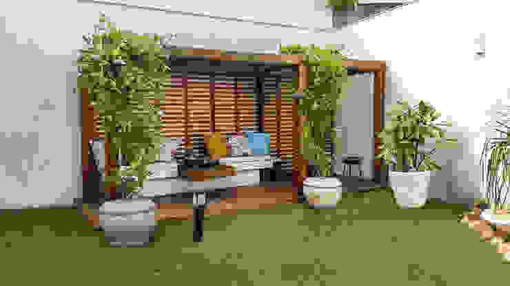 Jardines de invierno de estilo  por Cláudio Maurício e Paulo Henrique,
