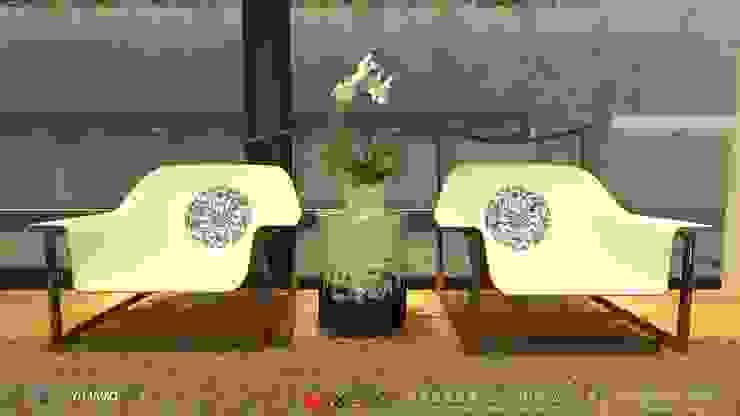 明明德設計椅  - 京悅設計(台灣): 極簡主義  by 京悅室內裝修設計工程(有)公司|真水空間建築設計居研所, 簡約風