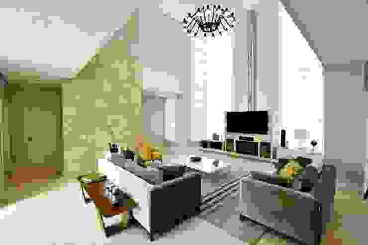 Outro ângulo Salas de estar modernas por Marcelo Minuscoli - Projetos Personalizados Moderno