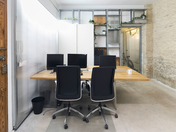 Eseiesa Arquitectos ห้องทำงาน/อ่านหนังสือ