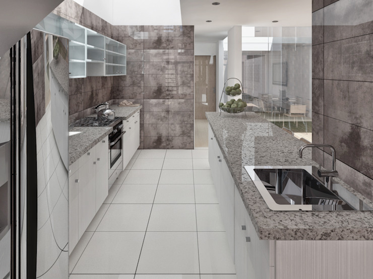 Kitchen by TECTONICA STUDIO SAC