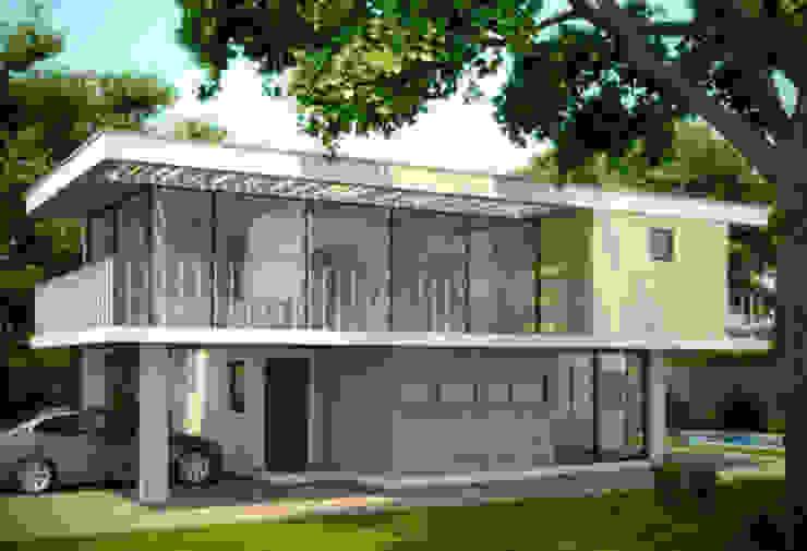 Casa San Martin de Castañeda Arquitectos Ltda Mediterráneo Concreto