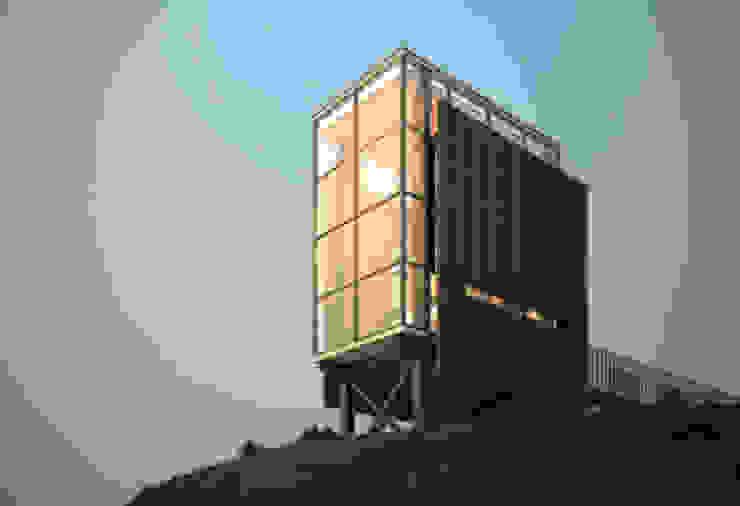 Refugio Rojas Castañeda Arquitectos Ltda Casas de campo Hierro/Acero Transparente