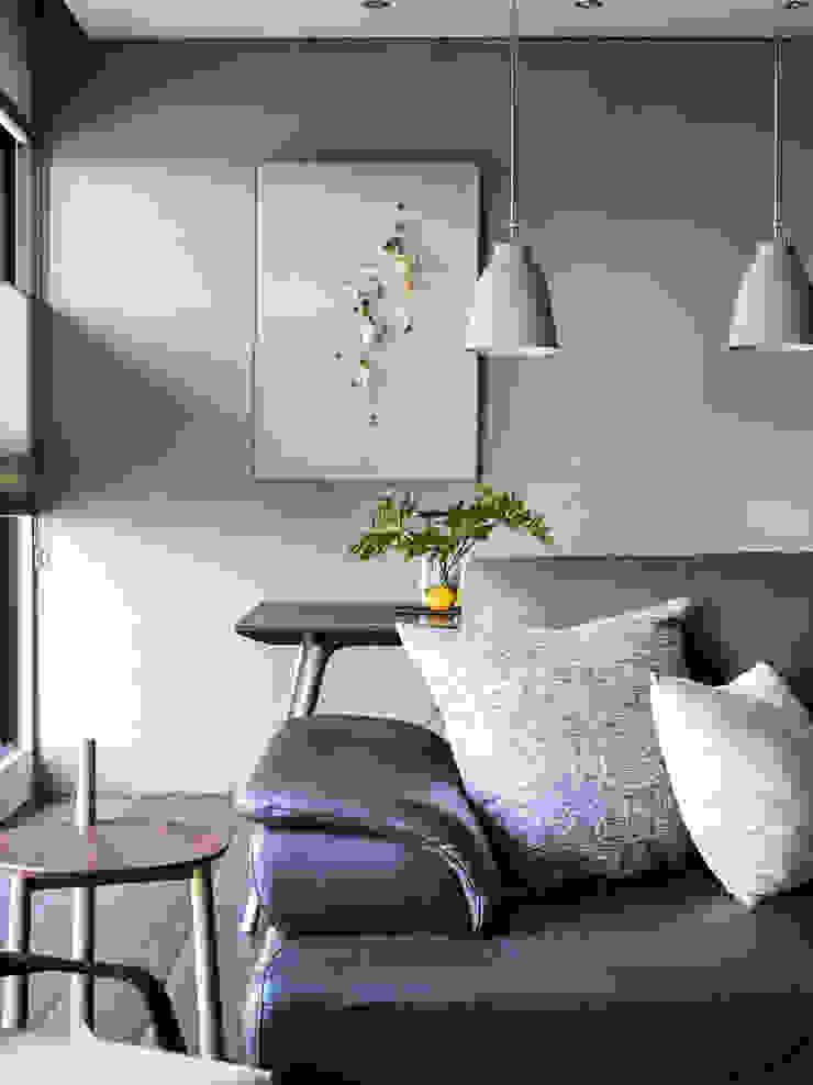 客廳 现代客厅設計點子、靈感 & 圖片 根據 樸十設計有限公司 SIMPURE Design 現代風