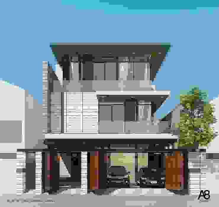 Double Volume House โดย A8 Design Studio