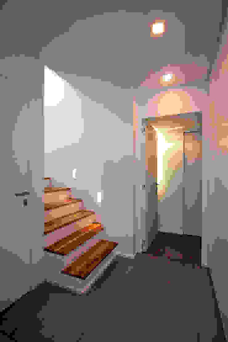 ห้องโถงทางเดินและบันไดสมัยใหม่ โดย Anomia Studio โมเดิร์น