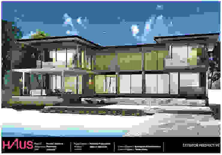 แบบบ้าน Kuiburi 2 ชั้น @Hausbangkok โดย Hausbangkok