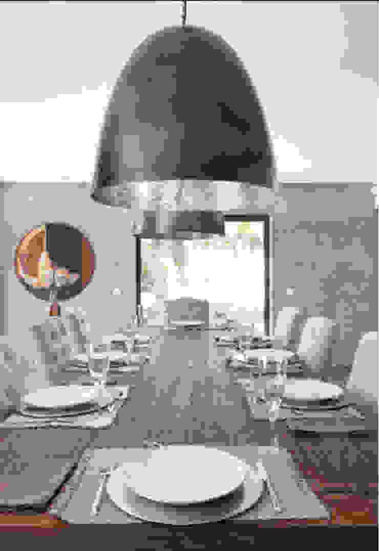 Projeto Qta. da Marinha Officina Boarotto Salas de jantar modernas
