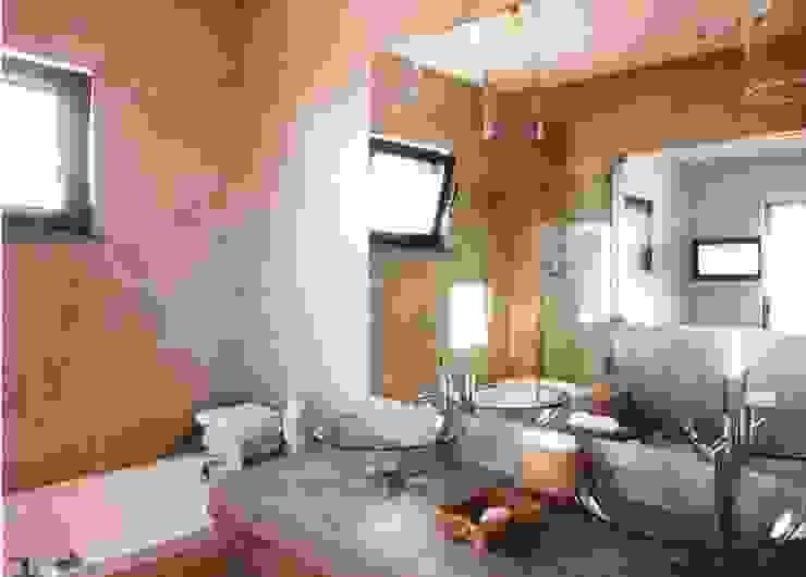 Projeto Serra de Loulé Officina Boarotto Salas de estar modernas