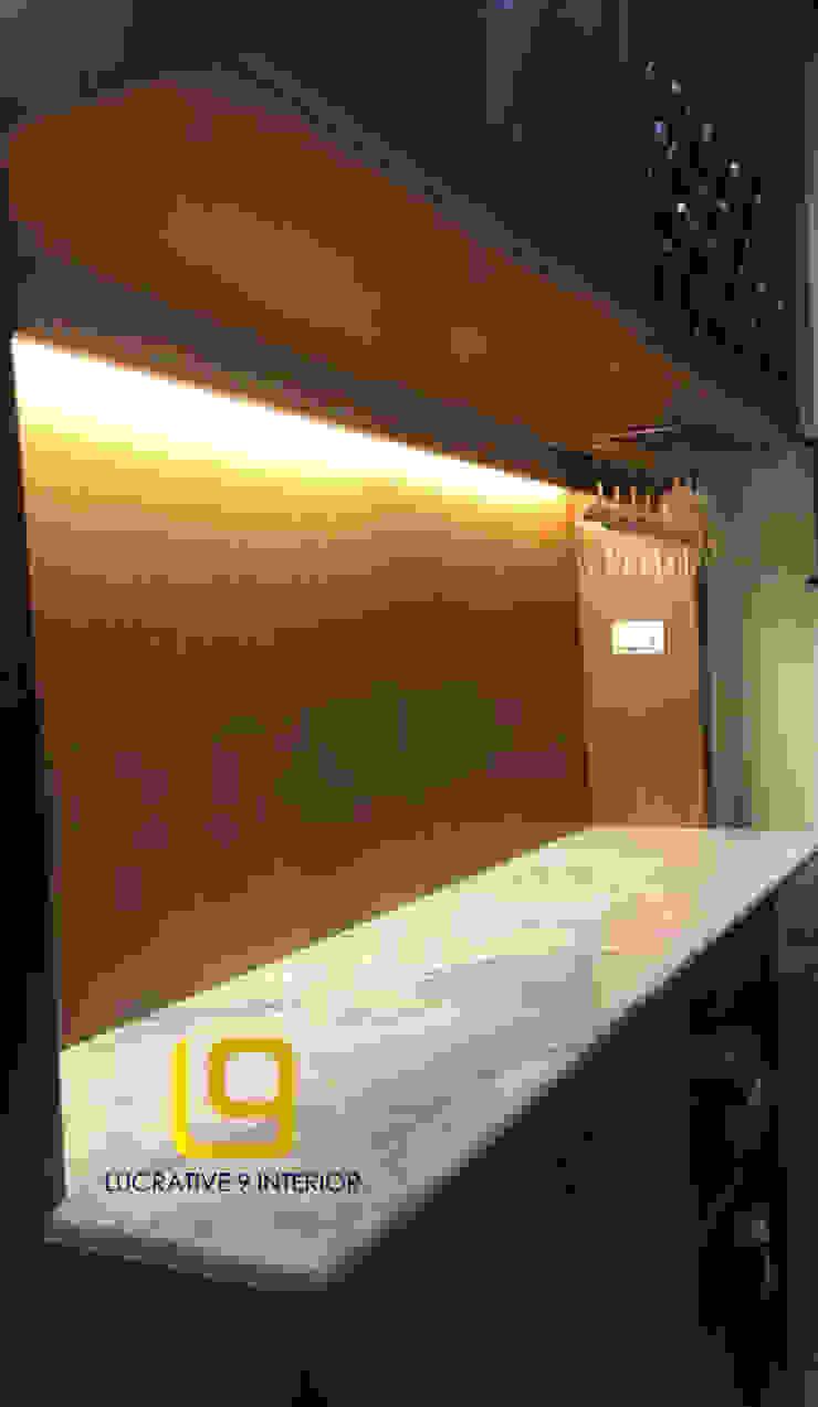 ออกแบบเฟอร์นิเจอร์บิ้วอินสไตล์ไทย: ผสมผสาน  โดย Lucrative 9 Interior Design and Construction co.,ltd., ผสมผสาน