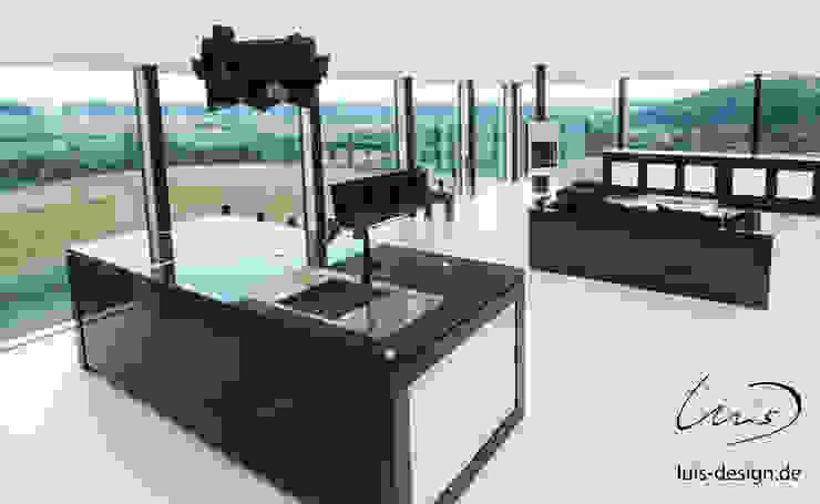 Luxury kitchen by Luis Design by Luis Design Modern Granite