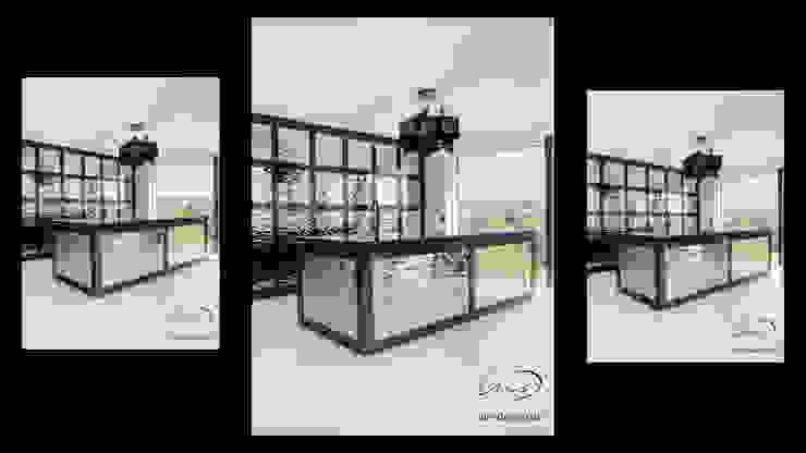 Luxury granite kitchen Modern Kitchen by Luis Design Modern Stone