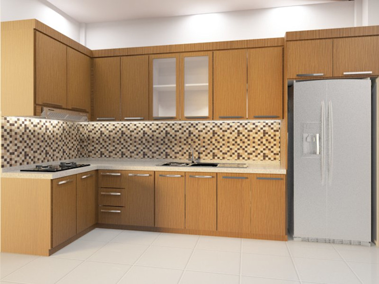 kitchen set design Oleh Eswae Interior Minimalis