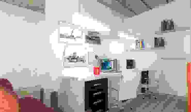Habitaka diseño y decoración Bureau moderne Blanc