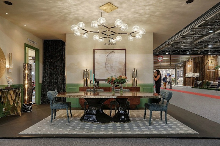 IMM2018 and MM2018: the next BRABBU (Contract) trend fairs Modern Dining Room by BRABBU Design Forces Modern