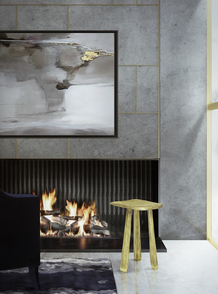 IMM2018 and MM2018: the next BRABBU (Contract) trend fairs Modern Living Room by BRABBU Design Forces Modern