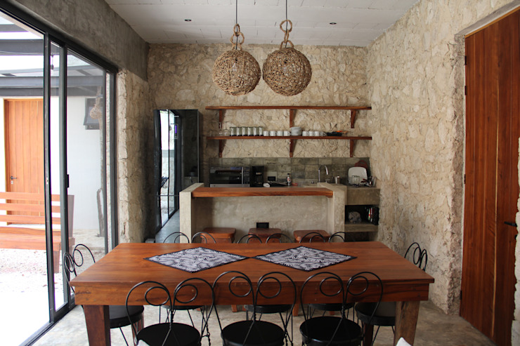 Kitchen by CO-TA ARQUITECTURA, Rustic
