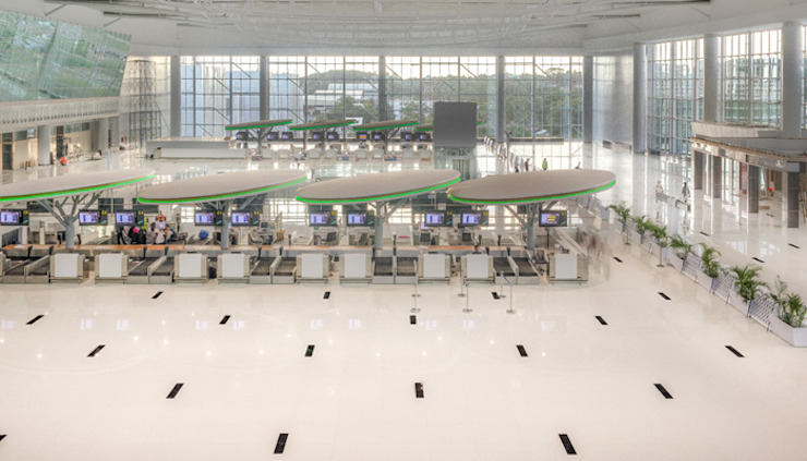 Sepinggan International Airport Balikpapan Bandara Minimalis Oleh Wisma Sehati Minimalis