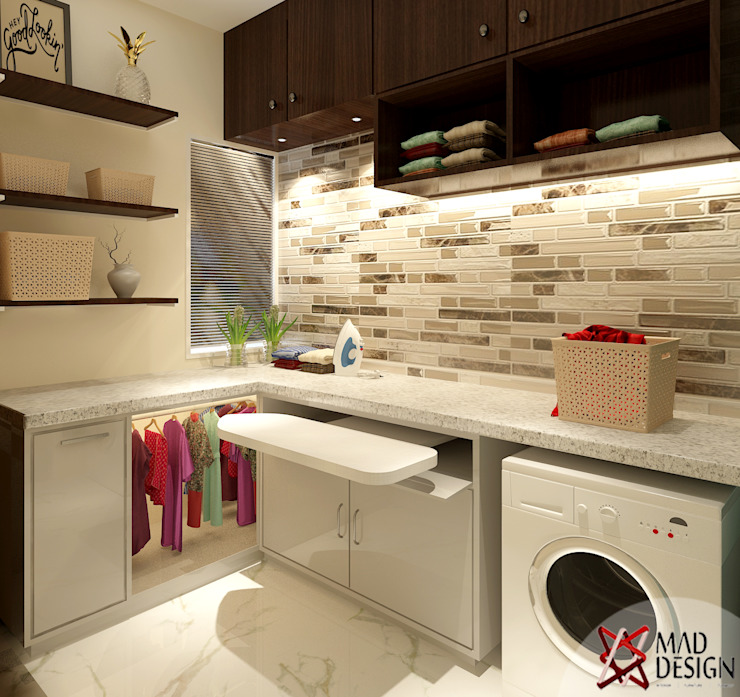 5BHK PROJECT @PRATEEK STYLOME BY MAD DESIGN:  Bathroom by MAD DESIGN