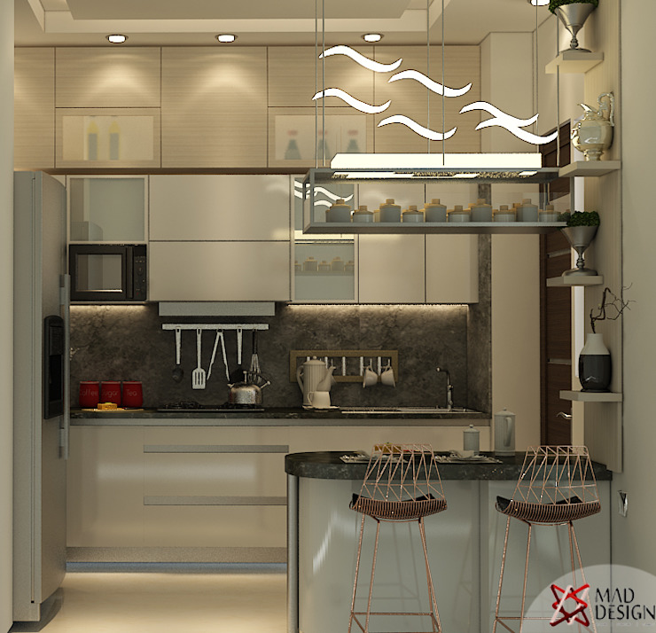 Kitchen by MAD DESIGN