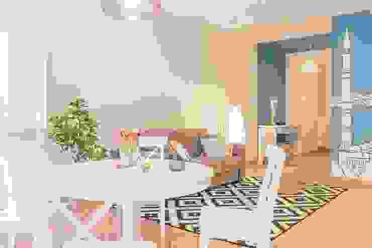 Anna Leone Architetto Home Stager غرفة السفرة